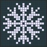 Snowflake game design Royalty Free Stock Photos