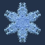 Snowflake generated texture Stock Photography