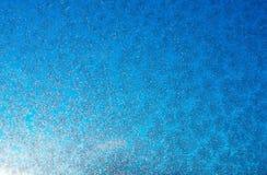 Snowflake on glass Royalty Free Stock Image