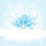 Snowflake grunge Stock Photo