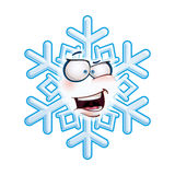 Snowflake Head - AHA Royalty Free Stock Photos