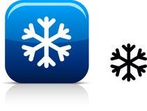 Snowflake icon. stock illustration