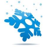Snowflake icon Stock Photo
