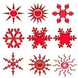 Snowflake icon Royalty Free Stock Photography