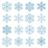 Snowflake icon collection