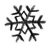 Snowflake icon Stock Photo