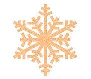 Snowflake icon Royalty Free Stock Images
