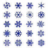 Snowflake Icon Vector Stock Image