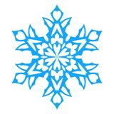 Snowflake Icon. vector illlustration. Stock Images