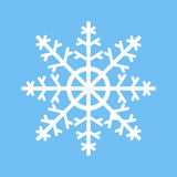 Snowflake icon vector. Stock Images