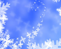 Snowflake illustration Stock Photos