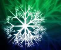 Snowflake illustration Royalty Free Stock Images