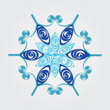Snowflake. Illustration that inspired by snowflake royalty free illustration