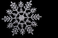 Snowflake isolated Royalty Free Stock Photography