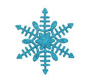 Snowflake isolated on white Royalty Free Stock Photography