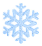 Snowflake isolated on a white background Stock Photography