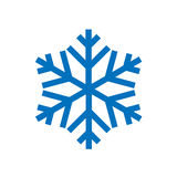 Snowflake isolated on white Royalty Free Stock Image