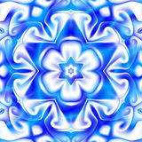 Snowflake Kaleidoscope Stock Photography