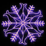 Snowflake Lights - Blue Royalty Free Stock Images