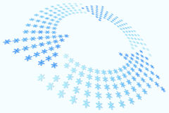 Snowflake Loop Royalty Free Stock Image