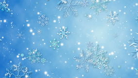 Snowflake stock video footage