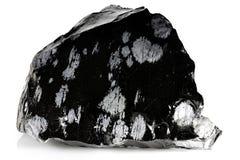 Snowflake obsidian Στοκ Φωτογραφίες