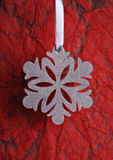 Snowflake ornament Stock Photos