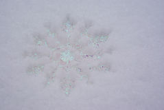 Snowflake Ornament Stock Image