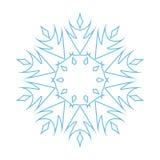 Snowflake ornate stock image