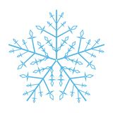 Snowflake ornate royalty free stock images