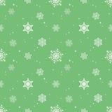 Snowflake pastel green background tint layer Royalty Free Stock Photo