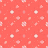 Snowflake pastel red background tint layer Royalty Free Stock Photos