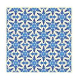SnowFlake Pattern 002. Snowflake Pattern in isometric arrangement. (You can repeat the pattern as large as you wish) - VECTOR Stock Photography