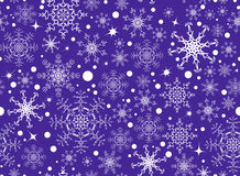 Snowflake pattern Royalty Free Stock Photography