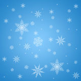 Snowflake pattern Stock Images