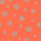 Snowflake  pattern. Stock Images