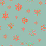 Snowflake  pattern. Royalty Free Stock Photography