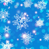 Snowflake Pattern. Christmas and new year concept royalty free stock photos