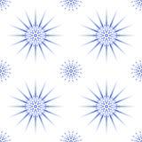Snowflake pattern seamless Stock Photography