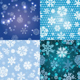 Snowflake Pattern. Seamless  texture. Christmas and new year concept Royalty Free Stock Photography