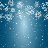 Snowflake Pattern. Seamless  texture. Christmas and new year concept Stock Photo