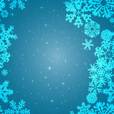 Snowflake Pattern. Snowflake vector texture. Christmas and new year concept.  Royalty Free Stock Images