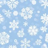 Snowflake Pattern. Snowflake vector texture. Christmas and new year concept royalty free stock photos