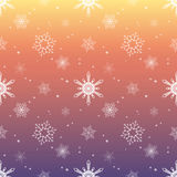 Snowflake pattern tint layer pink rose sky color background Royalty Free Stock Photos
