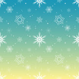 Snowflake pattern tint layer tropical sky color background Stock Photography