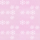 Snowflake pattern. Vintage wrapping paper with snowflake pattern stock illustration