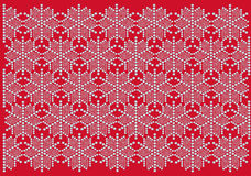 Snowflake pattern wallpaper. Snowflake pattern for christmas card, wallpaper or giftwrap Stock Photos