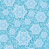 Snowflake pop up seamless vector Stock Image
