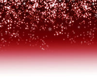 Snowflake on red background. Christmas snowflake on red background Stock Photos