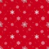 Snowflake red background tint layer Royalty Free Stock Photo